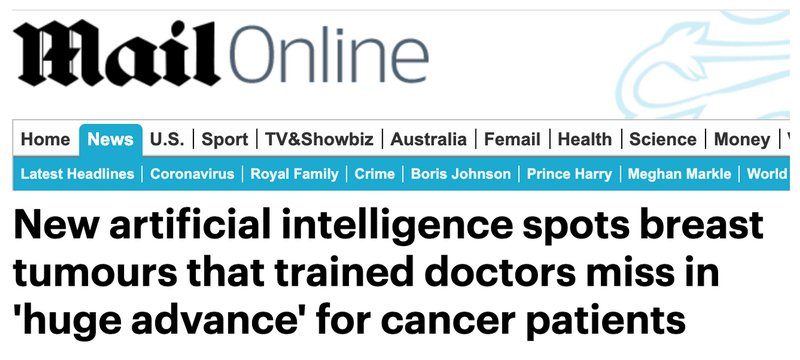 Daily mail AI